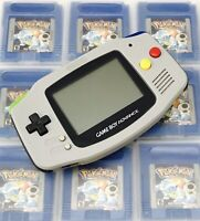 Nintendo Gameboy Advance GBA Grey Handheld Gaming Console - SNES Look Super