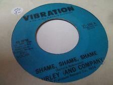 "7"" SHIRLEY AND COMPANY - Shame Shame Shame - VG - VIBRATION - VI-532 - US - 1974"