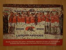 AZ Alkmaar Landskampioen 2008-2009 paper hand clapper / voetbalklapper