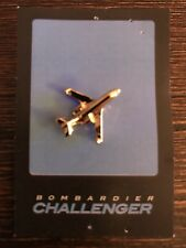 Rare Bombardier Challenger Pin Gold Color Lapel Hat Collector Pin