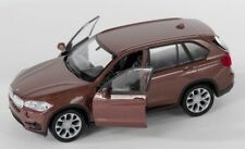 BLITZ VERSAND BMW X5 braun / brown Welly Modell Auto 1:34-39 NEU & OVP