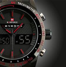 NAVIFORCE MEN'S WATCH, STEEL, QUARTZ, DIGITAL LED (001.13.01.01.0003)