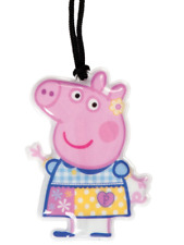 NUOVO PEPPA PIG TORCIA A LED GEORGE BORSA TAG LUCE TORCH a piedi area SH UK
