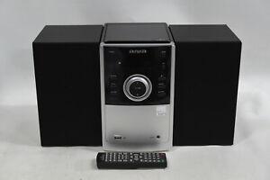 Aiwa AMD-805 Micro Hi-Fi Stereo System - CD/DVD Player, Bluetooth, FM Radio, AUX