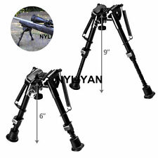 "Us 6""-9"" Adjustable Handy Spring Return Sniper Rifle Bipod+ Rail Mount"