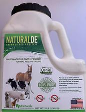 Diatomaceous Earth NaturalDE Animal Feed Grade Additive 3 LB