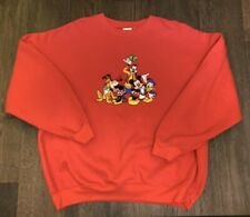 New listing Vintage Disney Store Mickey Mouse And Friends Sweatshirt Size Xl