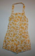 New Gymboree Yellow & White Butterfly Romper Outfit 12-18m NWT Girls Summer