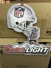 Coors Light Nfl Sign