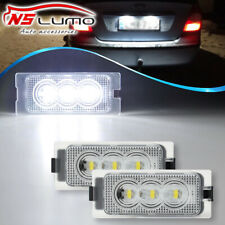 2xLED License Plate Light For Ford Edge 2007-2014 Escape 2008-14 Mercury Mariner