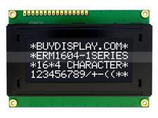 3.3V Black 16x4 Character LCD Module Display w/Tutorial,HD44780 Controller,Bezel