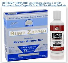 BUMP ZAPPER SEVERE BUMPS KIT [SHRINK-WRAPPED] WITH FREE BUMP TERMINATOR LOTION