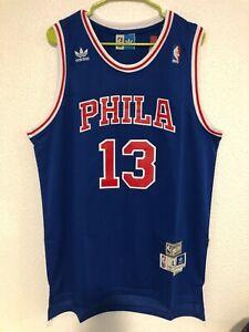 Men's Philadelphia 76ers #13 Wilt Chamberlain Jersey