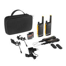 Pareja walkies Motorola T82 Microauricular bolsa 30w20