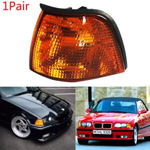 1 Pair For BMW E36 3 Series 318i 320i 325i 328i M3 1992-1999 Front Head Light