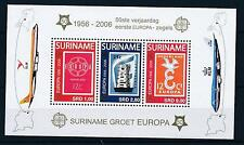 [SU1361] Suriname Surinam 2006 Aviation Aircrafts Europa CEPT Souvenir Sheet MNH