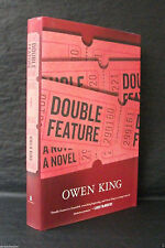 DOUBLE FEATURE Owen King SIGNED US 1st ED HB/DJ With LIMITED ED DELETED CHAPBOOK
