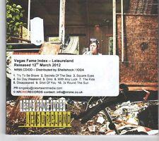(GM4) Vegas Fame Index, Leisureland - 2012 DJ CD