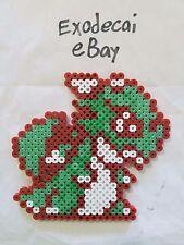Kikira The Dragon Little Samson Bead Sprite Perler Art Nintendo Retro Platformer