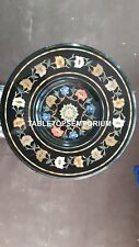 "24"" Mosaic Design Marble Cofffee Center Table Top Inlay Arts Decor Hallway H4096"