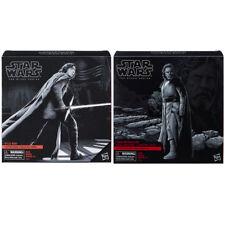 DHL 3DAY Hasbro Star Wars Last Jedi Black Series Luke Skywalker Kylo Throne Set