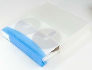 DVD CD KEEPER  – CD/DVD Wallet Holder Binder HOLDS 40 DISCS RANDOM COLOR