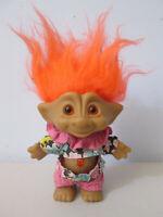 """Ace Novelty Troll Doll 4"""" Jewel Belly Treasure Troll"""