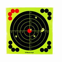 """12"""" Adhesive Target Splatter Glow Shot Rifle Paper Target Shooting Targets"""