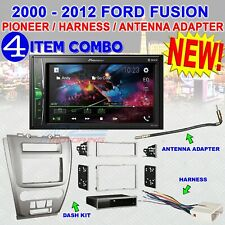 2010-12 FORD FUSION PIONEER TOUCHSCREEN AM/FM BLUETOOTH USB CAR RADIO STEREO PKG