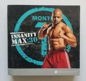 INSANITY MAX: 30 The Workouts Plus Bonus Sweat Fest (11 DVDs, 2014) By Beachbody