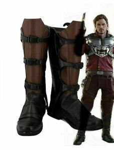 Guardians of The Galaxy Star Lord Peter Quill Cosplay Boots Shoes