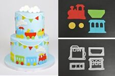 FMM Train Cutter Set Sugarcraft cake decorating   Next Day Despatch