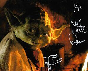 STAR WARS - MIKE QUINN - YODA - GENUINE HAND SIGNED PHOTOGRAPH