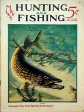 Vintage Hunting & Fishing Magazine May 1931 Great Cover Sporting