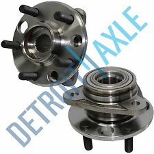 Set (2) New REAR Wheel Hub and Bearing Assembly for Cadillac Oldsmobile Pontiac