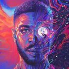 "Kid Cudi ""Man On the Moon III: The Chosen"" Art Music Album Poster HD Print"