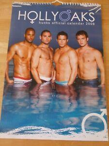 Hollyoaks Hunks Rare Official A3 Calendar 2008