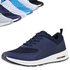Damen Sportschuhe Laufschuhe Runners Sneakers Schnürer 815208 Top