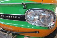 4x Scheinwerfer NEU NSU TT TTS H4+H1 Prinz Sport Doppelscheinwerfer 1000  67C