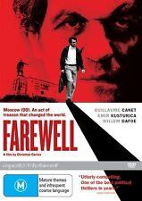 Farewell (DVD, 2010) Aleksey Gorbunov, Alexandra Maria Lara, Benno Furmann, Davi