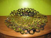 ALESSI *NEW* Corbeille inox brillant D.37cm H.6cm ACA02/38 Cagianelli