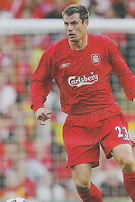 Football Photo>JAMIE CARRAGHER Liverpool 2004-05