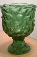 Vintage Green Glass Dish, E. O. Brody Co, Cleveland, OH - A102