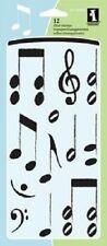 Inkadinkado claro Sellos Notas Musicales 60-30492 quavers agudos Bass Clef Musical