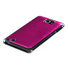SAMSUNG GALAXY NOTE i717 BRUSHED ALUMINUM ACRYLIC SNAP-FIT CASE PINK COSMO