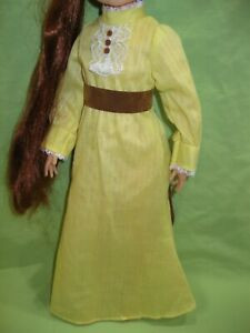 Ideal VINTAGE Kerry CRISSY Doll Fashion 1973 SUMMER SOCIAL Peasant Dress & Belt