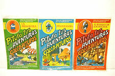 6 Package SET 1980's Spanish Smurf Transferable Characters & Backgrounds Rare