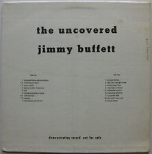 The Uncovered JIMMY BUFFETT 1969 PROMO Publishing DEMO LP Buzz Carson NASHVILLE