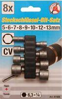 KRAFTMANN BGS 67308 Steckschlüssel-bit-satz, 5-13MM, 8-tlg