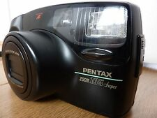 Pentax Zoom 105 Super 35mm Compact Film Camera With Case